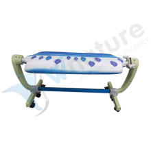 Hot sale 360 degrees plastic rotation ironing board for double surface using
