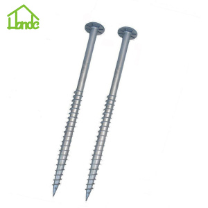 Mudah Rakitan Ground Screw Pole Anchor