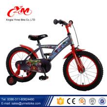 2017 Nuevo diseño fresco bmx bicicleta niños / aire neumáticos bebé bici para niños niño / al aire libre deporte niños bicicleta estática EN 71 estándar