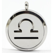 Factroy Direct 30mm Rd Stainless Steel Perfume Diffuser Locket Pendant