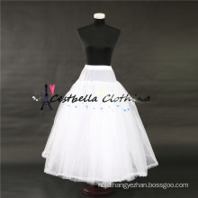 High quality best sale white crinoline underskirt puffy petticoats for women