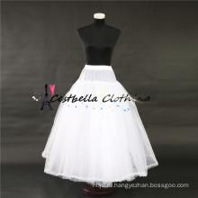 Высокое качество лучшие продажи белый кринолин нижняя юбка пышные юбки для женщин