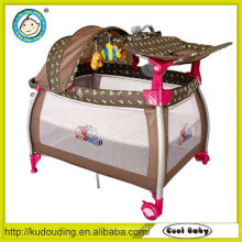 Heißer Verkauf europäisches Standardmultifunktions-Säuglingsbabybett