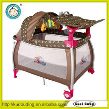Wholesale china import playpen with hang up mosquito