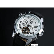 Elegant Man Tourbillon Automatic Watch With Roman Numeral D