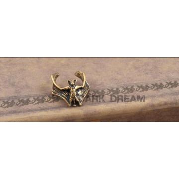 Jóia da forma Brincos de clipe de manguito de orelha Vintage feitos de bronze