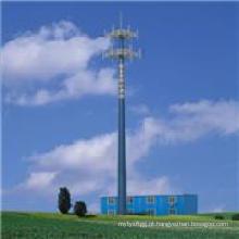 Vário, altura, galvanizado, comunicação, aço, poste