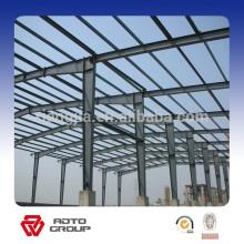 bâtiment de structure en acier d'atelier d'usine de coût bas / conception de structure en acier bon marché