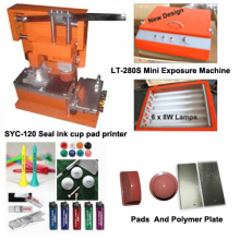 Manual Pad Printing Machine with Ink Cup and Exposure Unit