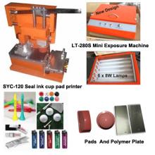 Máquina de impressão de logotipo de impressão de mão Tampo