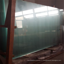 Verre trempé adapté aux besoins du client, verre de sécurité pour des panneaux décoratifs de barrière