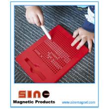 Nouveau coussin magnétique de dessin avec la boule magnétique 361PCS / jouet éducatif