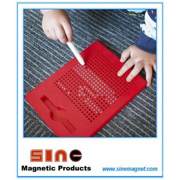 Neue magnetische Zeichnungs-Auflage mit magnetischem Ball 361PCS / pädagogisches Spielzeug