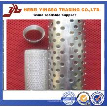 Chapa metálica galvanizada perfurada / Chapa metálica perfurada