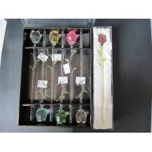 Crystal Color Rose for Home Decoration