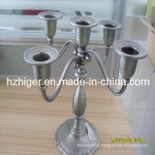 Home Decoration Aluminum Candlestick