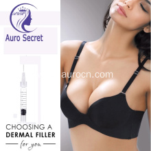 instant breast enhancement ha dermal filler