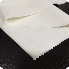 Combed TC Bleached White Fabric For Making Shoes
