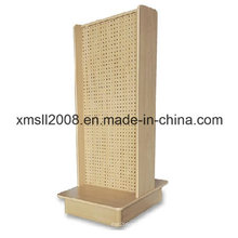 Maple 2 lados Streamline Pegboard Display