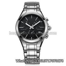 Reloj de acero inoxidable Hl-Bg-99 de la nueva manera del cuarzo de la moda