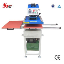 Double Station Hydraulic Heat Transfer Machine