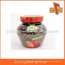 Venta al por mayor jarras de caramelo etiquetado plástico shrink bandas con impresión personalizada