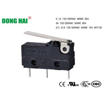 Micro-interrupteur subminiature antipoussière pour appareil électroménager