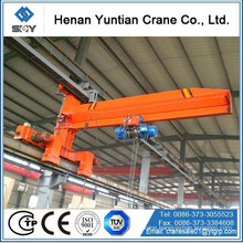Movable Wall Mounted travelling Jib Crane with electric hoist