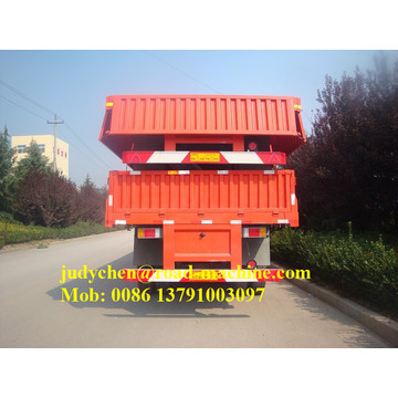 3 Axle 40ft Side Wall Cargo Semi Trailer