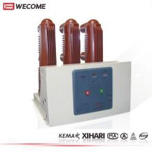 Wecome 12kV côté monté Type intérieur haute tension disjoncteur sous vide
