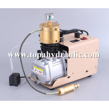 Alta pressão 30bar mini pcp 3hp compressor de ar