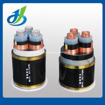 Cabo distribuidor de corrente 6kv com isolação de cobre do condutor XLPE / PVC