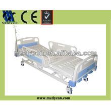 Three crank bed guard rail