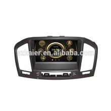 Conception originale wince voiture multimédia central pour OPEL Insignia / Buick Regal avec GPS / 3G / DVD / Bluetooth / IPOD / RMVB / RDS