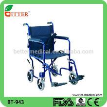 Chaise roulante légère en aluminium