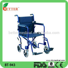Алюминиевая легкая инвалидная коляска