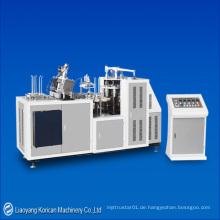 (KZ-PD-35) Automatische Einzel- / Doppel-PE-beschichtete Papierschüssel Umform- / Making Machine