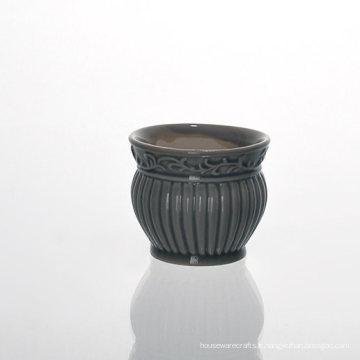 Supports céramiques Lattern Vintage émaillés à faible teneur en MOQ pour cire parfumée