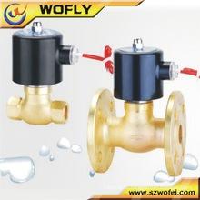 2WB-25 Válvula solenóide de água de aço inoxidável