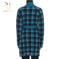 2016 Últimas Designs Longos De Casaco De Lã Para As Mulheres