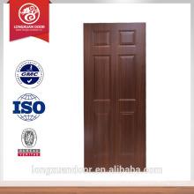 Projeto de porta a flush Mdf Design de porta de sala Preço de porta de madeira Escolha do fornecedor
