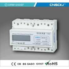 DRM1250sf Three Phase Electronic Multi-Rate Watt-Hour Meter