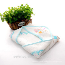 100% organic cotton made for the stylish mother great for baby bath CT-2142 baby saliva towel