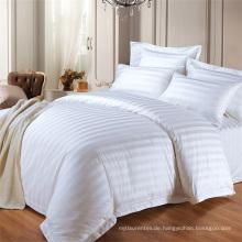 Heißer Verkauf Hotel Streifen König Größe Doona Abdeckung Bettbezug Bettbezug