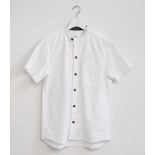 100% Wash cotton short sleeve chef shirt