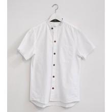 100% Wash cotton short sleeve chef shirt