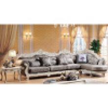 Sofá de madeira da tela para a mobília da sala de visitas (112)