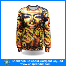 Wholesale Hip Hop Clothing Elegant Polyester Sublimation Printing Hoodie