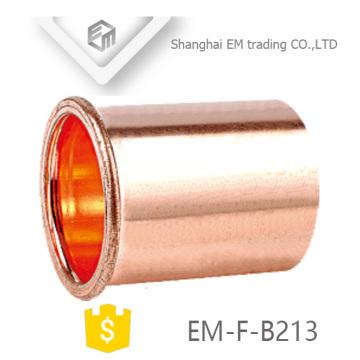 Acoplamiento de tubería de acoplamiento corto de cobre EM-F-B213