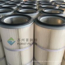 FORST Kraftwerk Staubabsaugung Medium Polyester Zylinder Luftfilter